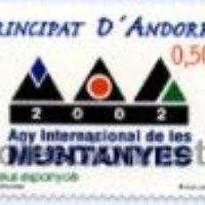 Francobolli: ANDORRA 2002 - EDIFIL 294 NUEVO SIN FIJASELLO (EN CATALOGO 1 €). Lote 29332228