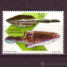 Sellos: ANDORRA 203*** - AÑO 1988 - ARQUEOLOGIA - ANDORRA PREHISTORICA. Lote 29549308