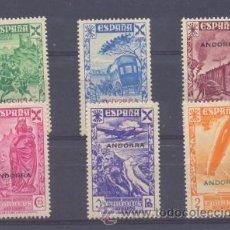 """Sellos: EDIFIL 1/6 * """"HISTORIA DEL CORREO"""". Lote 30519596"""