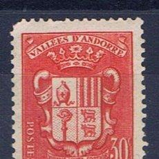 Selos: ANDORRA FRANCESA 1937 EDIFIL 56 NUEVO**. Lote 31597971