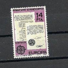 Sellos: ANDORRA 1982, EDIFIL, Nº 157/158**, EUROPA. Lote 31638078