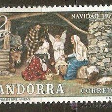 Sellos: ANDORRA 1972 NAVIDAD ** SERIE COMPLETA. Lote 106144096