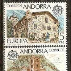 Sellos: ANDORRA 1978 EUROPA ** SERIE COMPLETA. Lote 106144578