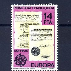 Sellos: ANDORRA ESPAÑOLA 157/58 ** EUROPA 1982. Lote 32721349