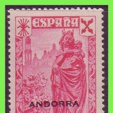 Sellos: ANDORRA BENEFICENCIA 1938 HISTORIA DEL CORREO, EDIFIL Nº 1 * *. Lote 33007298