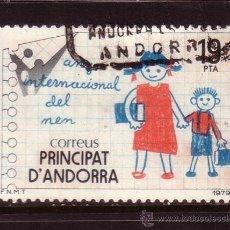 Sellos: ANDORRA 127 - AÑO 1979 - AÑO INTERNACIONAL DEL NIÑO. Lote 33816250
