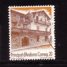 Sellos: ANDORRA 221 - AÑO 1990 - TURISMO - CASA PLANDOLIT. Lote 34034820