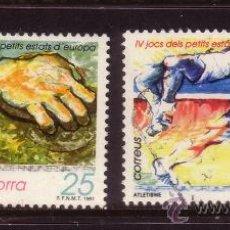 Sellos: ANDORRA 223/24 - AÑO 1991 - 4º JUEGOS DEPORTIVOS DE LOS PEQUEÑOS ESTADOS DE EUROPA. Lote 34034838
