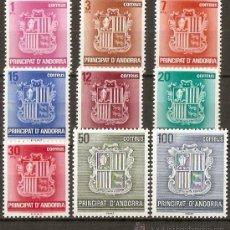 Sellos: ANDORRA EDIFIL NUM. 148/56 SERIE COMPLETA NUEVA SIN FIJASELLOS. Lote 106143091