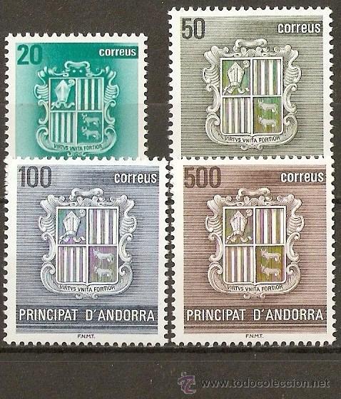 ANDORRA EDIFIL NUM. 209/12 SERIE COMPLETA NUEVA SIN FIJASELLOS (Sellos - España - Dependencias Postales - Andorra Española)
