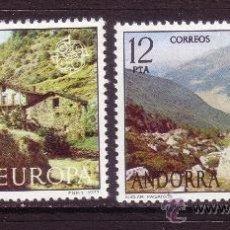 Sellos: ANDORRA 108/09*** - AÑO 1977 - EUROPA - PAISAJES. Lote 36422377