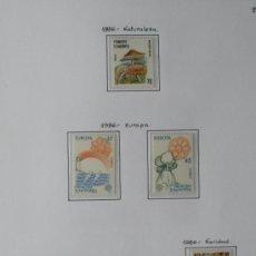 Sellos: SELLOS - ANDORRA ESPAÑOLA - AÑO COMPLETO 1986. Lote 37412630