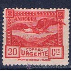 Francobolli: PAISAJES ANDORRA 1929 EDIFIL 27 NUEVO* VALOR 2013 CATALOGO 27.-- EUROS URGENTE. Lote 37478150