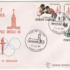 Sellos: JUEGOS OLÍMPICOS DE MOSCÚ.-1980. Lote 37868853