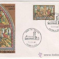 Sellos: NAVIDAD. RETABLO DE LA IGLESIA DE SANT ROMAN DES VILARS.-1980. Lote 37868902
