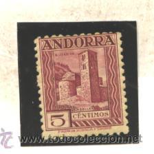 ANDORRA ESPAÑOLA 1929 - EDIFIL NRO. 16 - CHARNELA (Sellos - España - Dependencias Postales - Andorra Española)