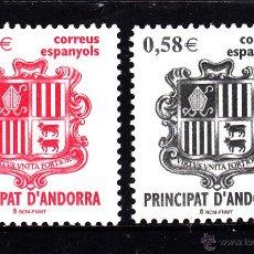 Sellos: ANDORRA 343/44** - AÑO 2007 - ESCUDO DE ANDORRA. Lote 103657586