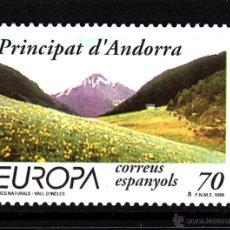 Sellos: ANDORRA 272** - AÑO 1999 - EUROPA - PARQUES NATURALES. Lote 43471545
