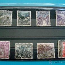 Sellos: SELLOS ANDORRA 1963 1964 EDIFIL 60 AL 67 NUEVOS SIN FIJASELLOS ** SERIE COMPLETA. Lote 45713994