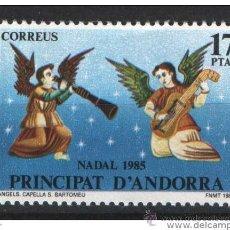 Sellos: ANDORRA ESPAÑOLA AÑO 1985 EDIFIL 189 YVERT 176 ** MNH SELLOS NUEVOS NAVIDAD. Lote 46326463