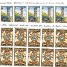 Sellos: ANDORRA.CONJUNTO DE SELLOS CON FACIAL DE 506,64. Lote 46673520