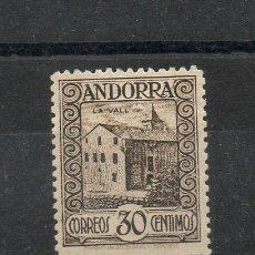 Sellos: ANDORRA ESPAÑOLA=EDIFIL Nº 21=PAISAJES DE ANDORRA=AÑO 1929=REF:1596. Lote 47458950