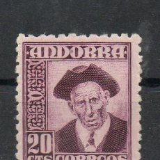 Sellos: ANDORRA ESPAÑOLA=EDIFIL Nº 48=TIPOS DIVERSOS=AÑO 1948-53=REF:1576. Lote 47459135