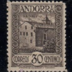 Sellos: ANDORRA ESPAÑOLA. EDIFIL Nº 21 NUEVO. Lote 49395513
