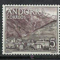 Sellos: ESPAÑA (ANDORRA) - 1963 - EDIFIL 66** MNH. Lote 261579580