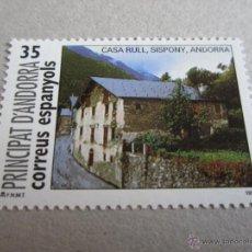 Timbres: ANDORRA 1999, ANFIL. Nº 273**, INAUGURACION CASA RULL. Lote 49913095