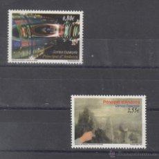 Sellos: .ANDORRA ESPAÑOLA 386/7 SIN CHARNELA, BIENAL DE VENECIA, . Lote 50224309
