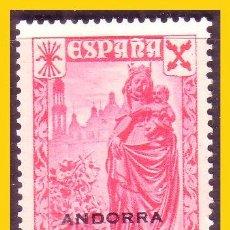 Sellos: ANDORRA, BENEFICENCIA 1938 EDIFIL Nº 1 * *. Lote 52366222