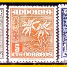 Francobolli: ANDORRA 1948 TIPOS DIVERSOS EDIFIL Nº 45 A 47 * * , 46 *. Lote 52536394