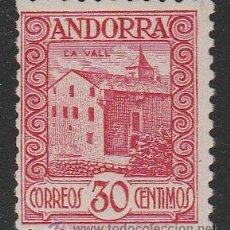 Sellos: ANDORRA ESPAÑOLA. EDIFIL Nº 21D NUEVO. Lote 53262156