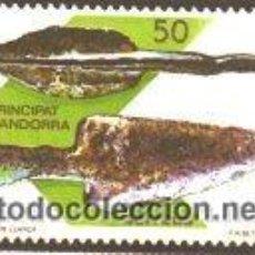 Sellos: ANDORRA ESPAÑOLA 1988 (203) ANDORRA PREHISTORICA (NUEVO). Lote 53596318