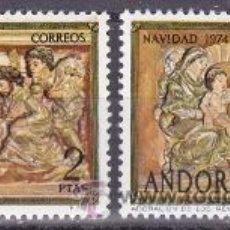 Sellos: EDIFIL 94/95 NAVIDAD-1974. Lote 53648069