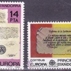 Sellos: EDIFIL 157/58 EUROPA-1982. Lote 53660219