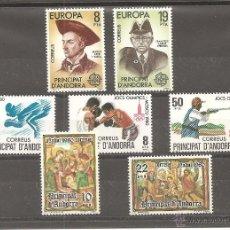 Sellos: ANDORRA ESPAÑOLA. AÑO 1980.**.. Lote 64433085