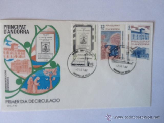 ANDORRA ESPAÑOLA. SPD 1982 (Sellos - España - Dependencias Postales - Andorra Española)