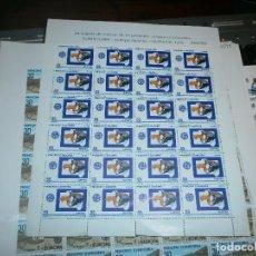 Sellos: SELLOS HOJA BLOQUE 24 SELLOS DE 55 PESETAS EUROPA 1991 EUROPA ESPACIAL OLYMPUS ESA. Lote 63502852