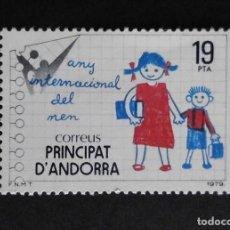 Sellos: ANDORRA - ESPAÑA - COLONIAS ESPAÑOLAS Y DEPENDENCIAS POSTALES 1979. Lote 69798233