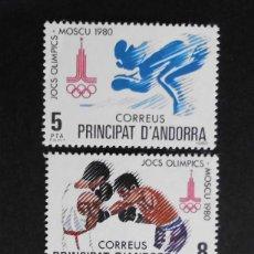 Sellos: ANDORRA - ESPAÑA - COLONIAS ESPAÑOLAS Y DEPENDENCIAS POSTALES 1980. Lote 69806293