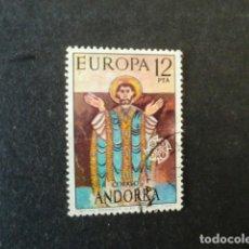 Francobolli: ANDORRA,CORREO ESPAÑOL,1975,EUROPA,EDIFIL 98,USADO,(LOTE AB). Lote 74326207