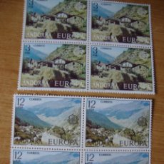 Sellos: ANDORRA ESPAÑOLA EDIFIL 108/109 LOQUE DE 4 NUEOS SIN CHARNELAS. Lote 74351131