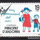Sellos: ANDORRA ESPAÑOLA EDIFIL 127** NUEVO SIN CHARNELA. 1979. LUJO. Lote 102589112