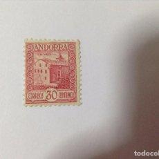 Sellos: ANDORRA ESPAÑOLA 1935 EDIFIL 36*. Lote 79594037