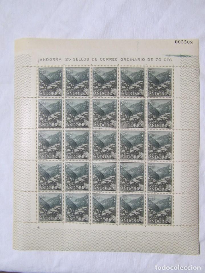 Sellos: 4 bloques de 25 sellos cada uno Andorra española Correo ordinario - Foto 7 - 79934009