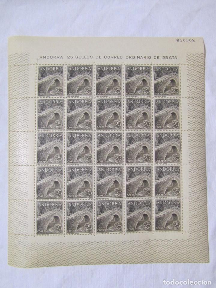 Sellos: 4 bloques de 25 sellos cada uno Andorra española Correo ordinario - Foto 8 - 79934009