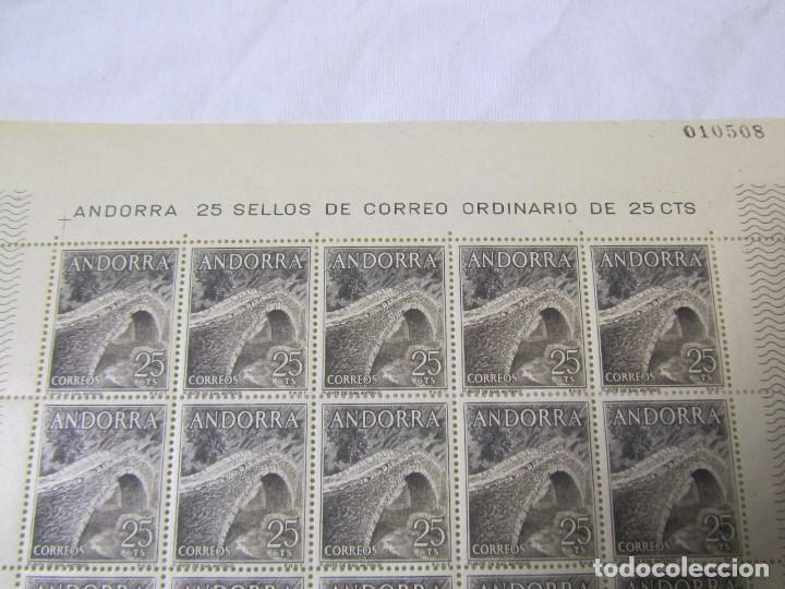 Sellos: 4 bloques de 25 sellos cada uno Andorra española Correo ordinario - Foto 9 - 79934009