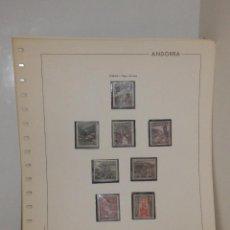 Sellos: COLECCIÓN - ANDORRA ESPAÑOLA - DESDE 1963 A 1985 - DESDE EDIFIL 60 A 189 - EN HOJAS Y FILOESTUCHES. Lote 82027692